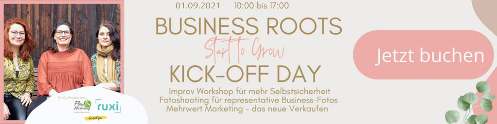 Business Roots Kick-off Day